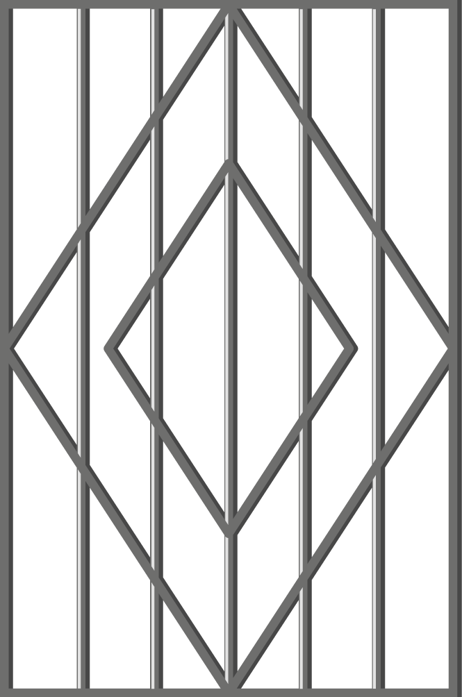 Ескіз решітки на вікно