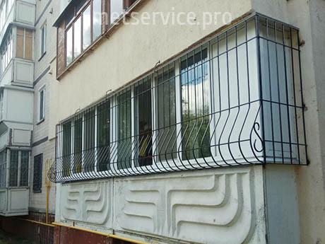 Решітка Луковица на балкон