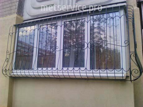 Решітка на балкон Цибулина