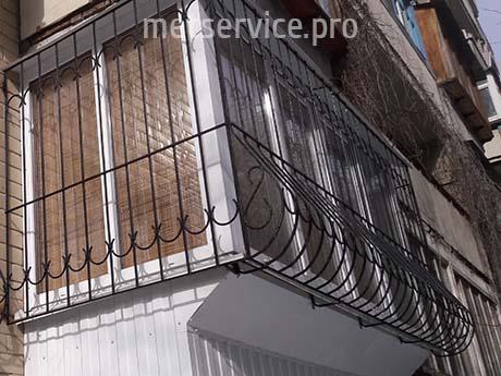 Комбіновані решітки на балкон