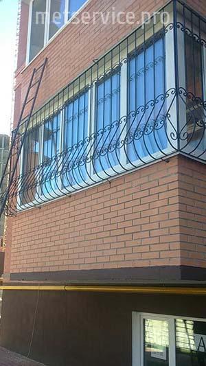 Решітки на балкон