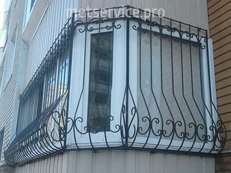 Решітка Луковиця на балкон