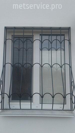 Зварна решітка на вікна