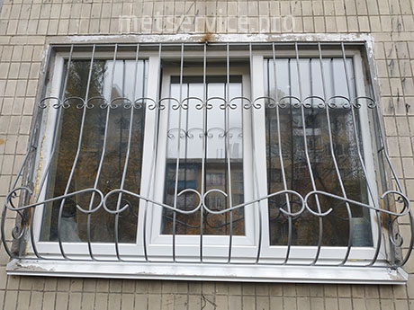 Віконна Решітка Луковиця