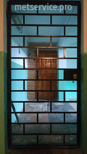 Металеві тамбурні двері