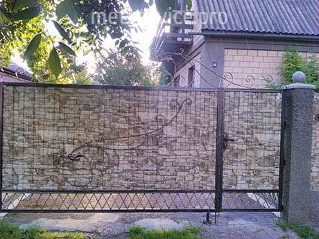 Ворота з профнастилу